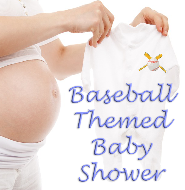 baseball themed baby shower decorations