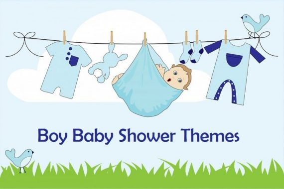 fun themes for boy baby showers