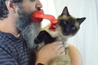 cat licker tool