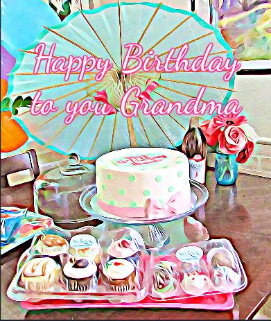 grandma birthday posters
