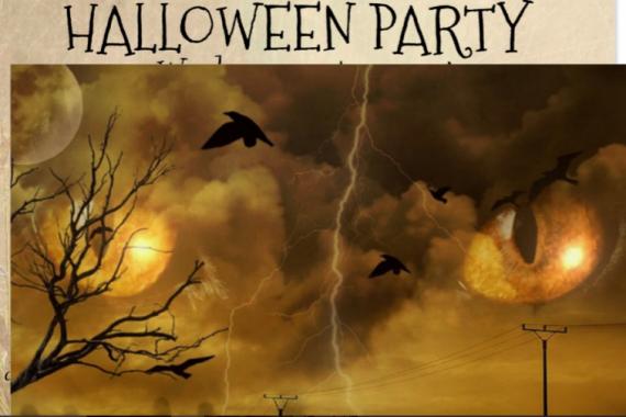 hallowen party invitations