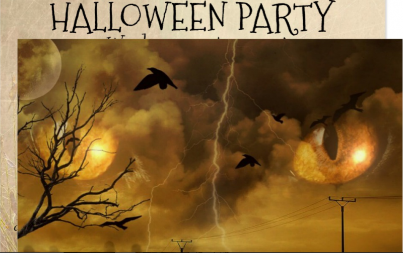 hallowen party invitations