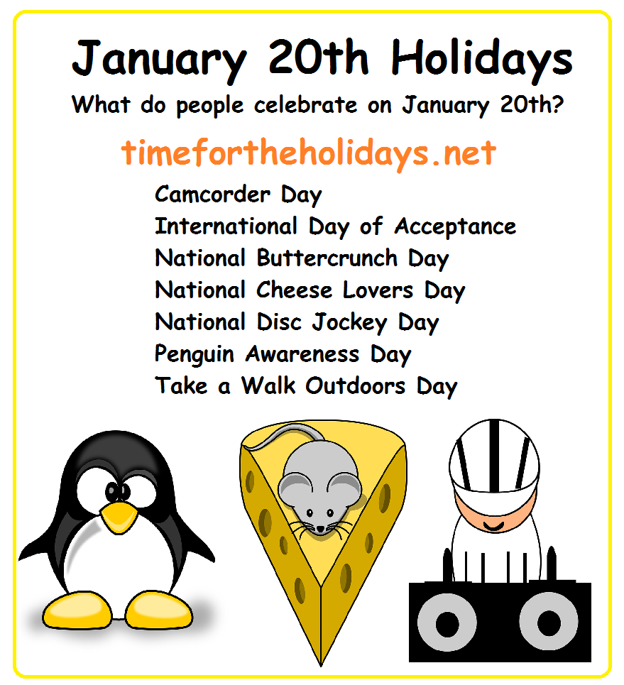 Jan 20 Us Holiday
