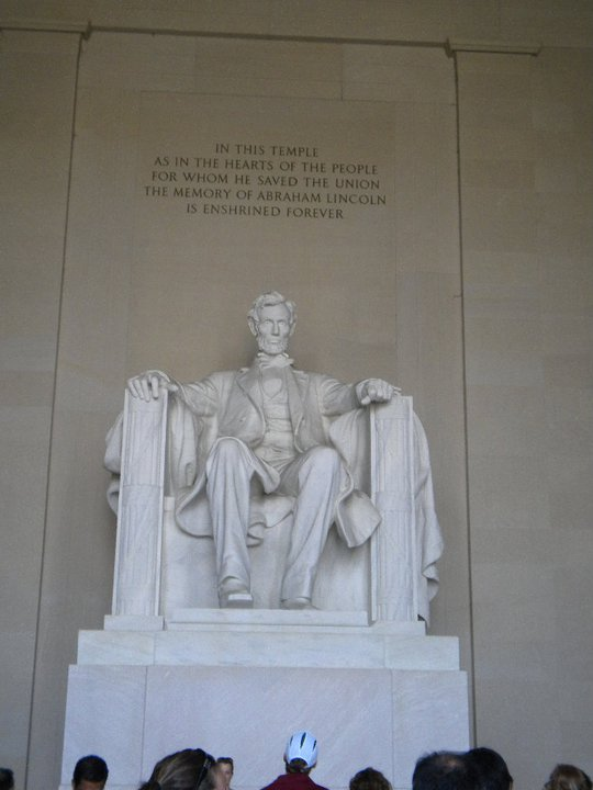Lincoln Memorial, Photo by Lisa Hilton