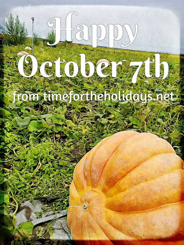 All About October Time For The Holidays