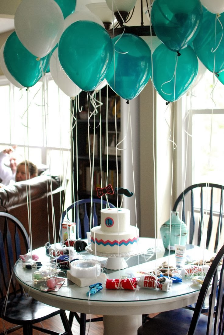Baby shower balloons ideas for boys time for the holidays for Dekoration fur babyparty