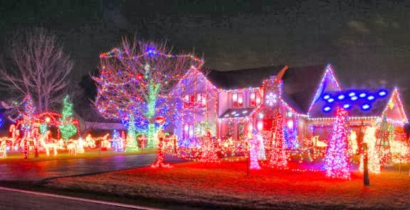 Pretty Christmas Light Displays Time For The Holidays