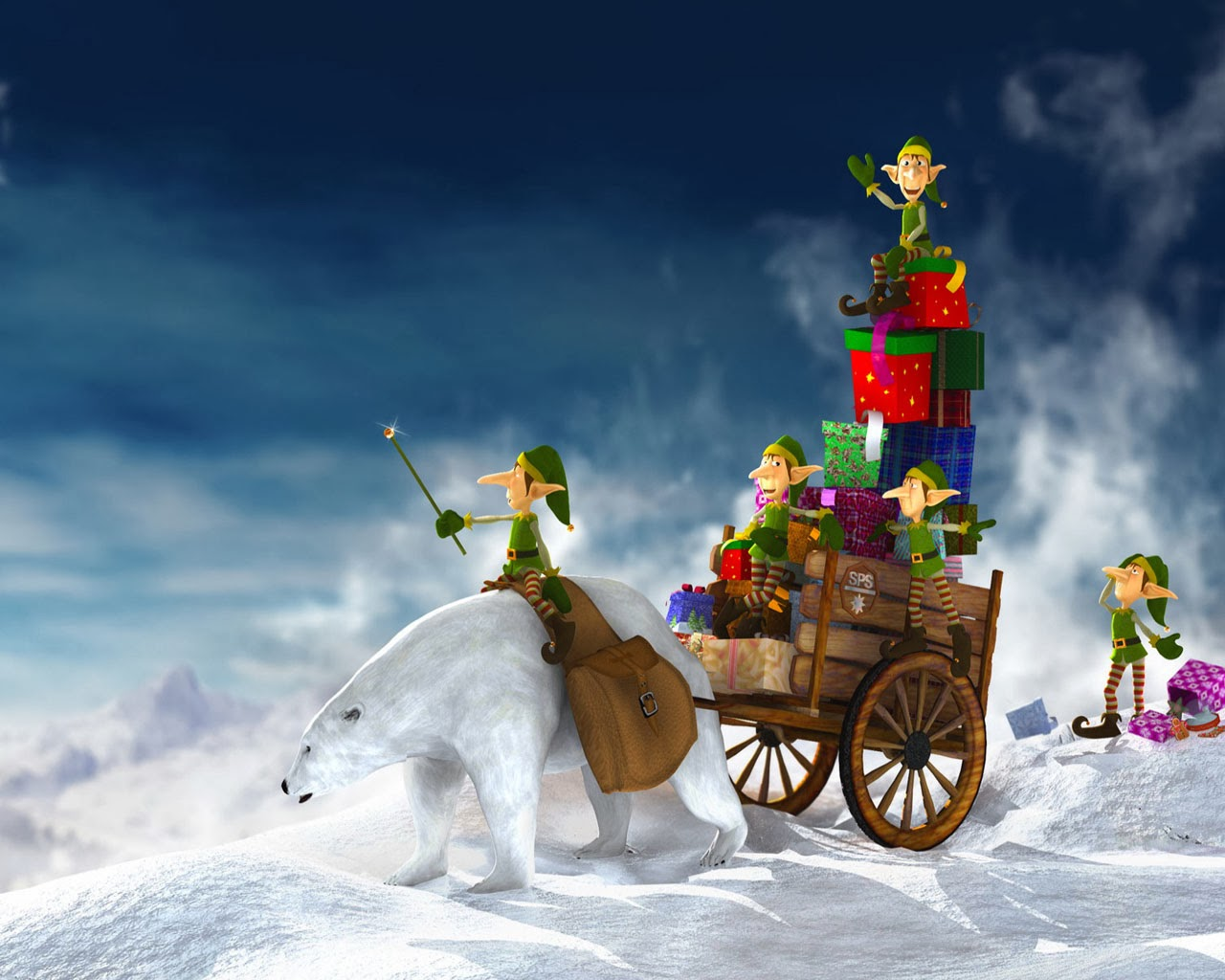 christmas screensavers - Animated Christmas Screensavers