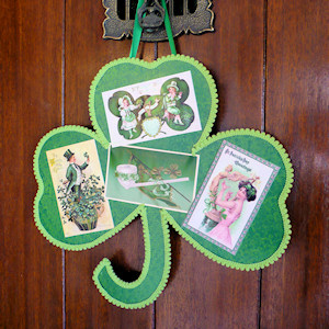 St patty s day craft ideas time for the holidays for Decoration saint patrick