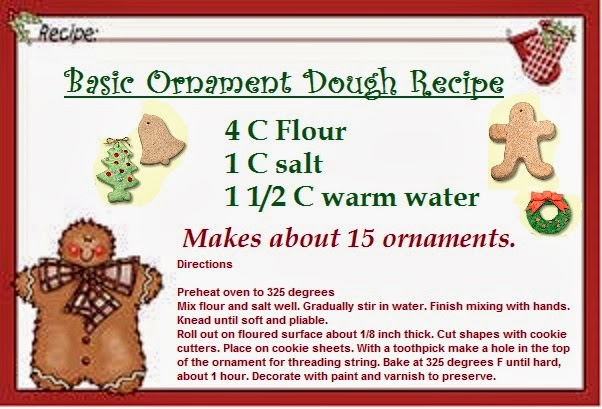 Cookie Dough Ornament Ideas | Time for the Holidays