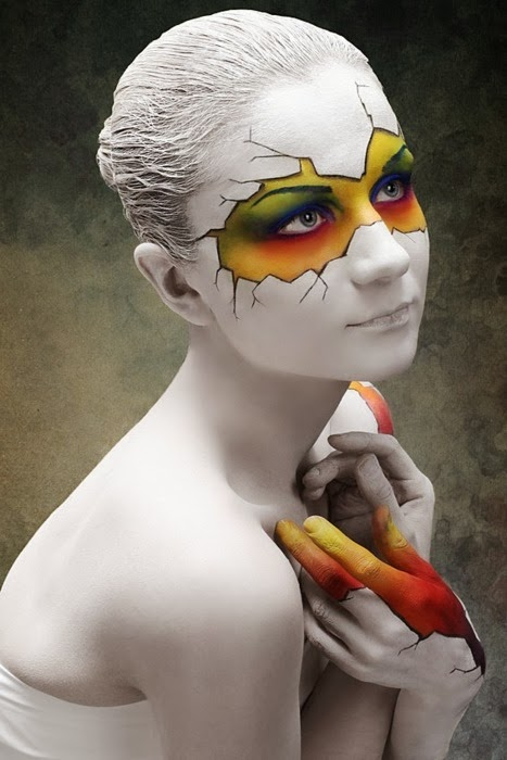 Cool Face Painting Ideas Time for the Holidays - Cool Halloween Face Paint Ideas